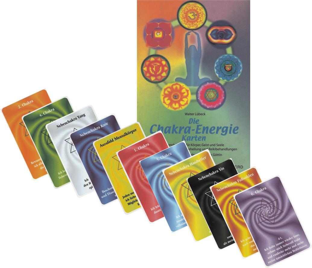 Chakra Energie Karten